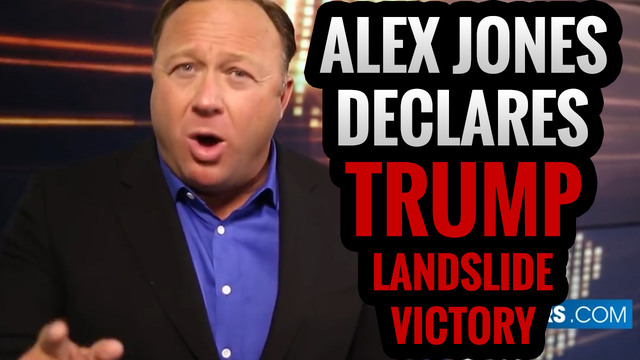 Alex Jones Declares Trump Landslide Victory [ LIVE SHOW 10.28.16 ]