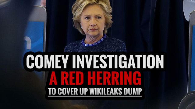 Comey Investigation a Red Herring to Cover Up Wikileaks Dump