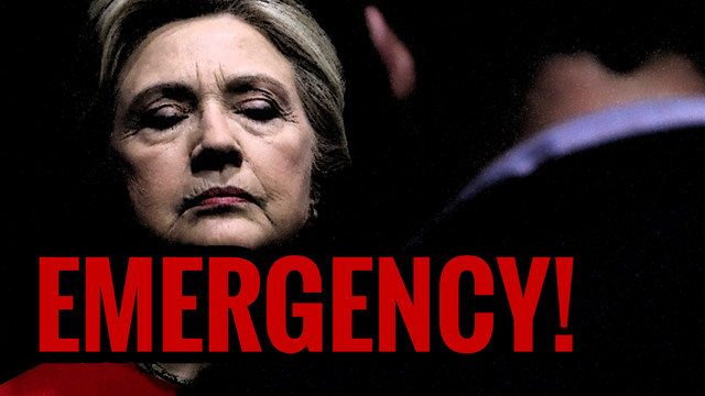 EMERGENCY BROADCAST! Hillary Clinton to Overthrow the Election
