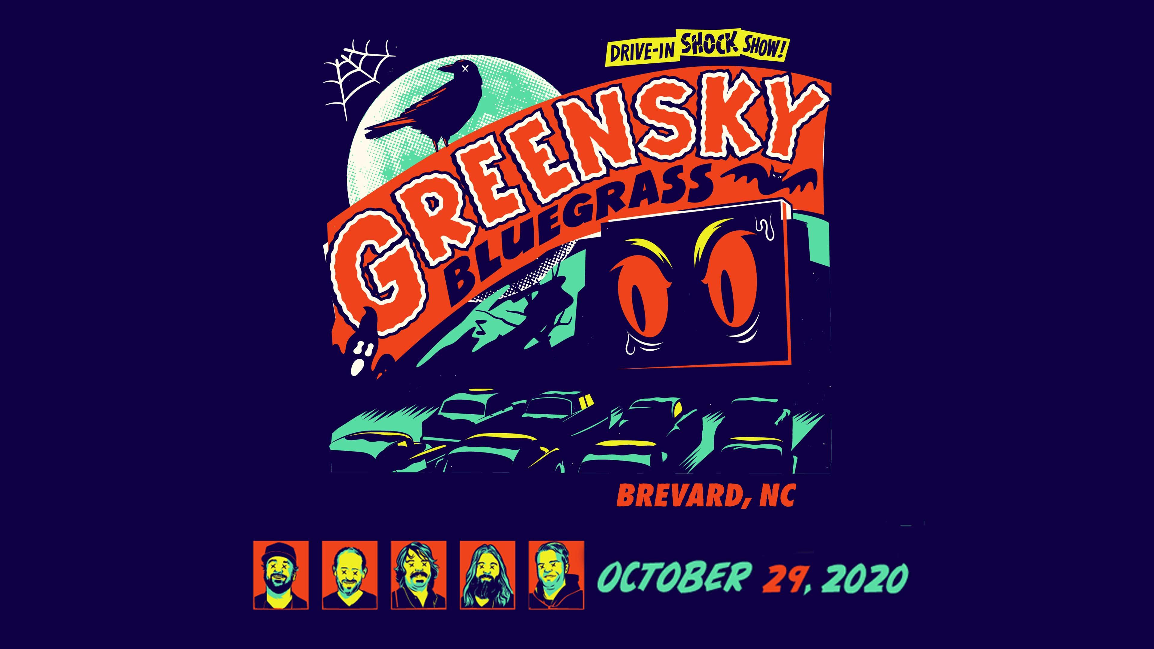Greensky Bluegrass Halloween 2020 Greensky Bluegrass Halloween 2020   10/29/20   Greensky Bluegrass