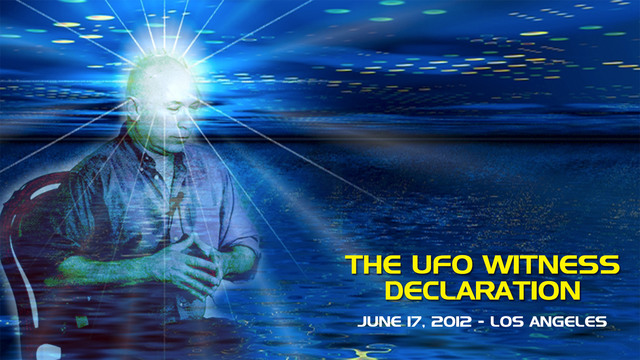 The UFO Witness Declaration - Video (2+ hours)