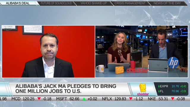 The Motley Fool's Jason Moser on Jack Ma's 1 Million U.S. Jobs Goal