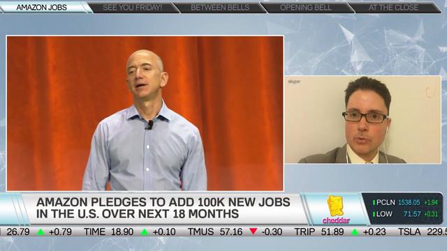 Maxim Group's Tom Forte on Amazon's U.S. Job Pledge