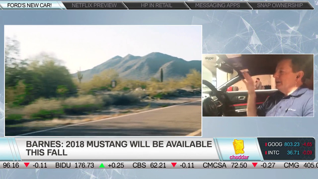 Ford's Tom Barnes Shows Off the 2018 Ford Mustang