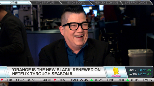 Orange Is the New Black's Lea Delaria on Working With Netflix
