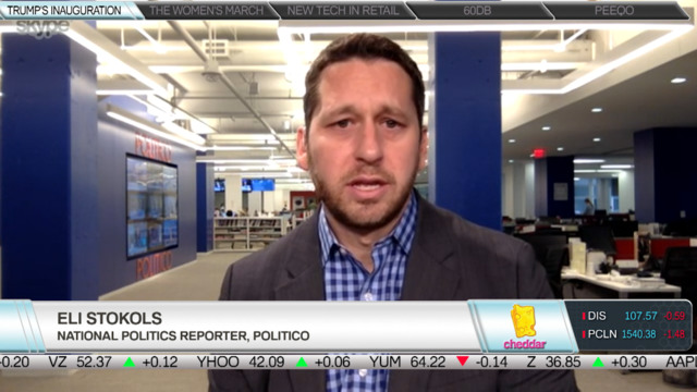 Politico's Eli Stokols on What to Watch for in Tomorrow's Inauguration