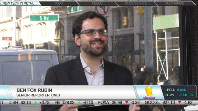 CNET's Ben Fox Rubin on Retailers Utilizing Tech
