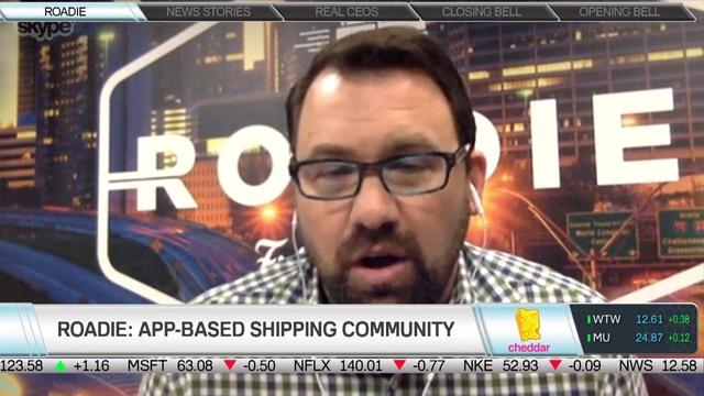 Roadie's CEO Marc Gorlin on Peer-to-Peer Package Delivery