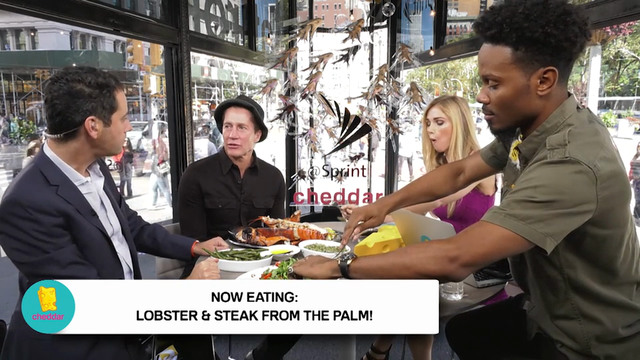 Surf, Turf, & celebrity dish from The...