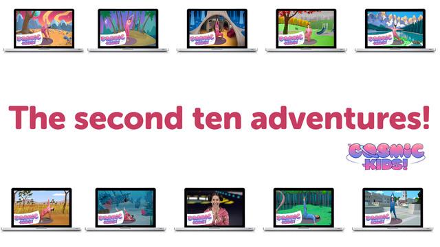 BUNDLE: The Second Ten Cosmic Kids Adventures!