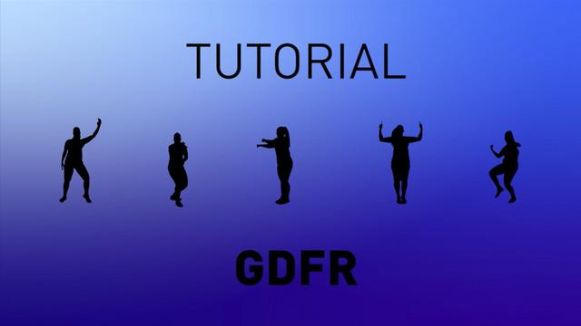 GDFR - Tutorial