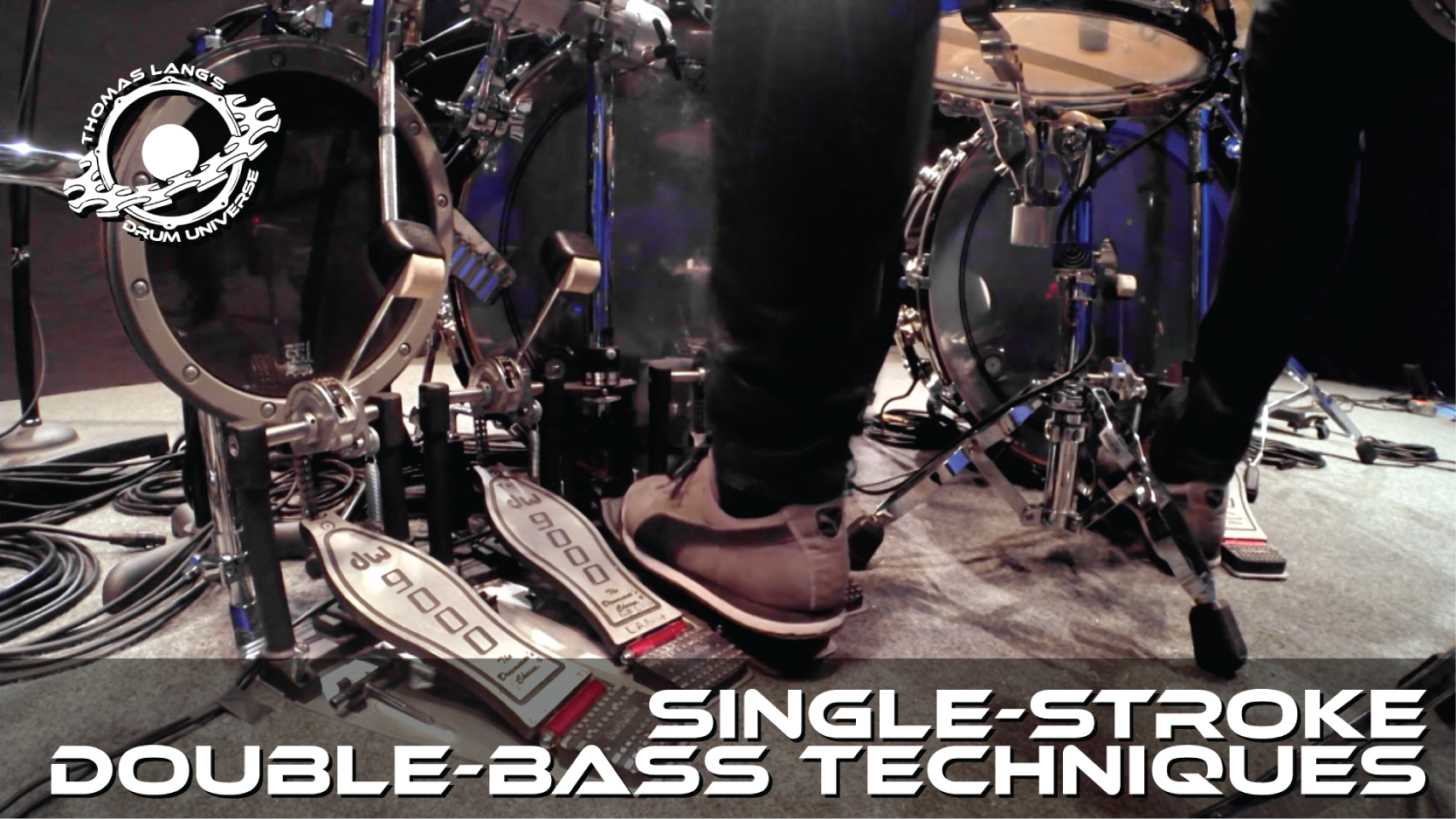 Single-Stroke Double-Bass Techniques