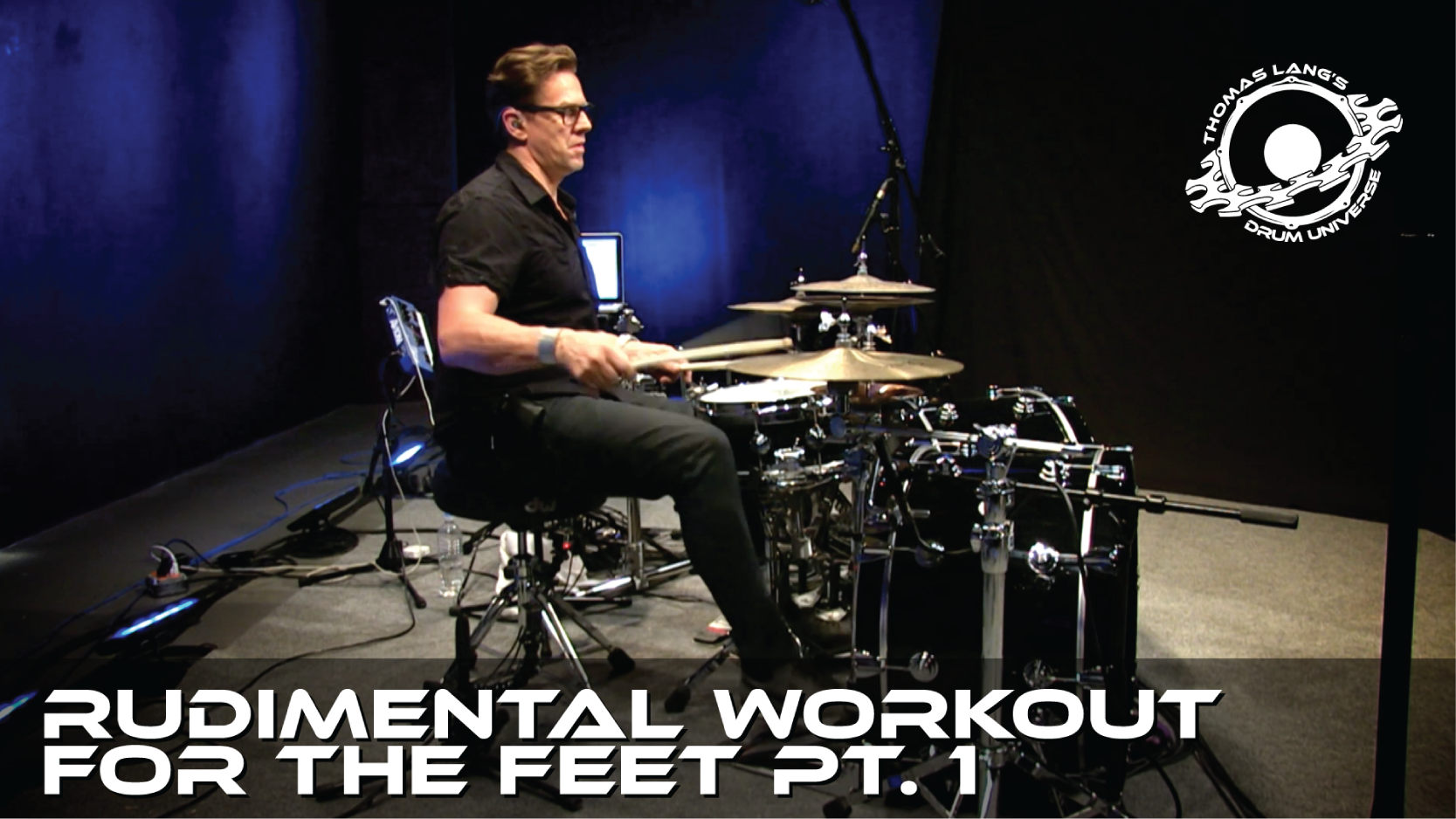 Rudimental Workout for the Feet Pt. 1