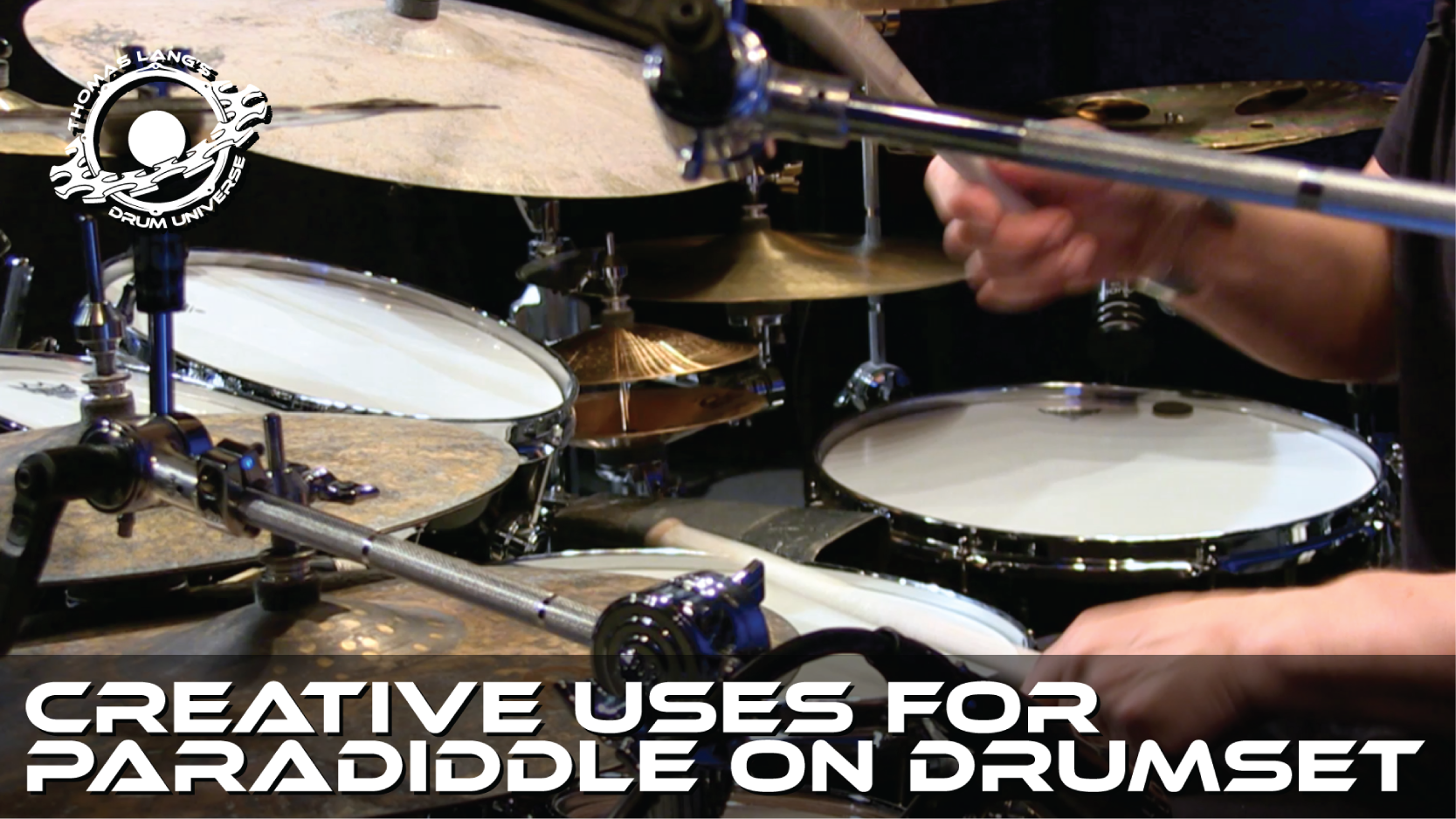 Creative Uses for Paradiddle on Drumset