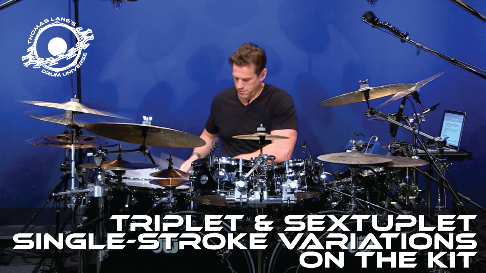 Triplet & Sextuplet Single-Stroke Variations on the Kit