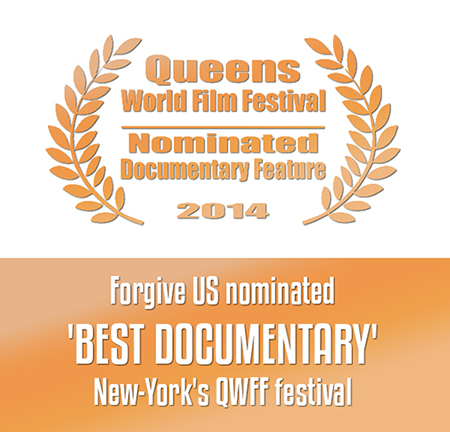 Forgive US nominated BEST DOCUMENTARY - New York's Queens World Film Festival