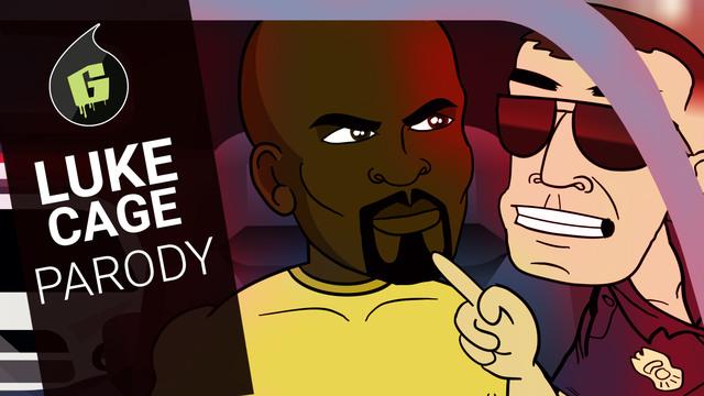 Luke Cage Cartoon Parody | Uncaged