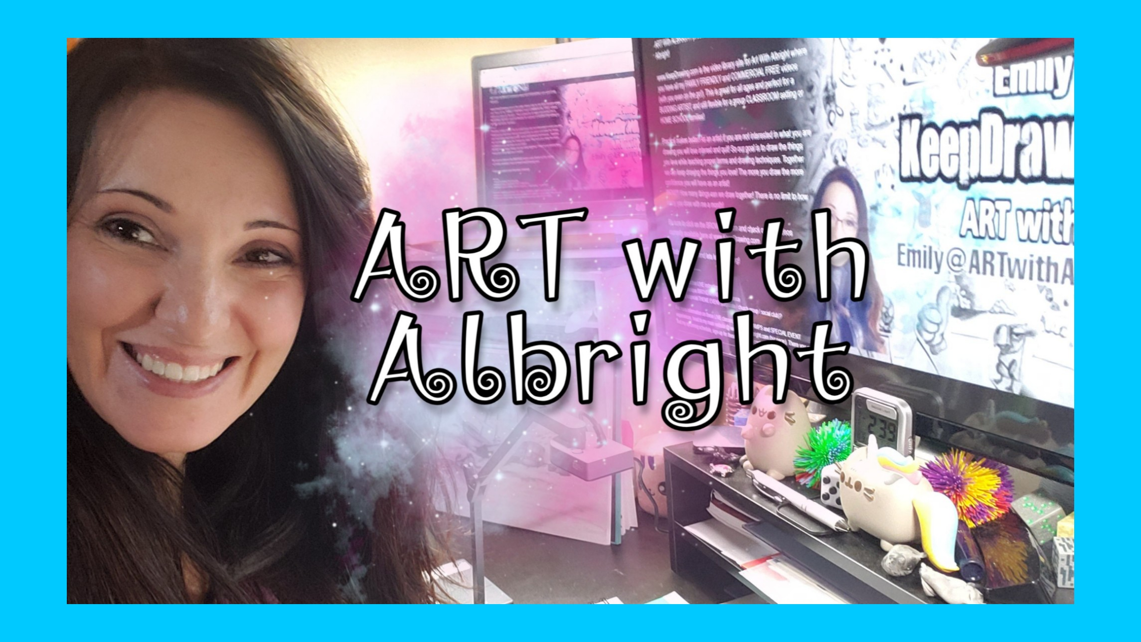 ART with Albright presents Keep Drawing