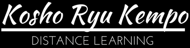 Kosho Ryu Distance Learning