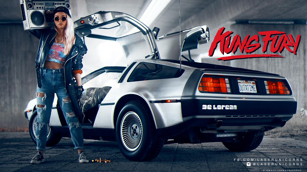 Kung Fury KUNG FURY is an over the top