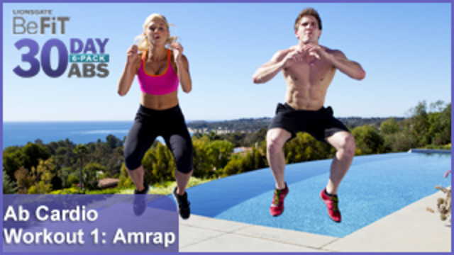 Ab Cardio Workout 1: Amrap | 30 DAY 6 PACK ABS