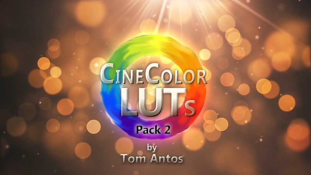 CineColor LUTs by Tom Antos - Pack 2