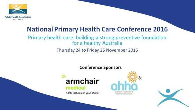 Primary Health Care Conference