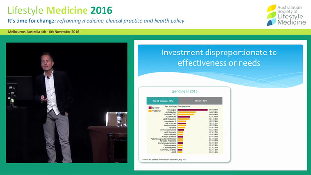 Lifestyle Medicine and the Great Healthcare Convergence Dr Robert Verkerk