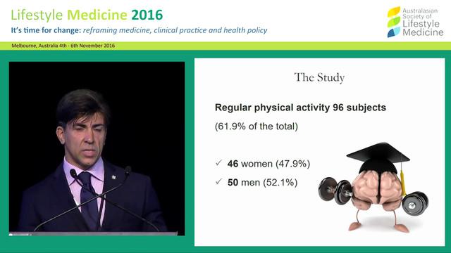 Abstract: Physical movement as healthy  lifestyle attitude among Italian medical school  students Dr Luigi Maselli et al