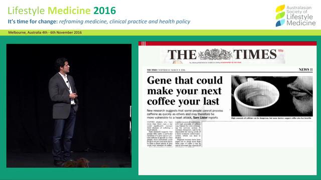 Nutrigenomics: Do our genes determine...