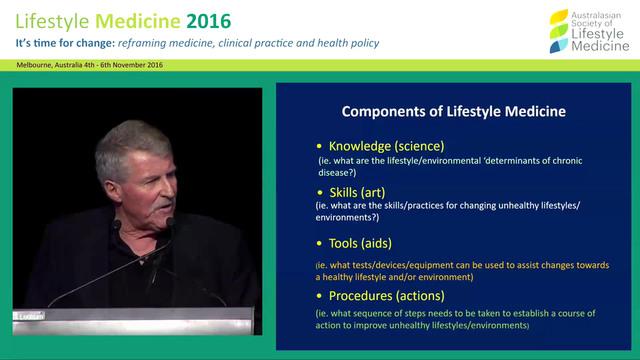Lifestyle Medicine Prof Garry Egger