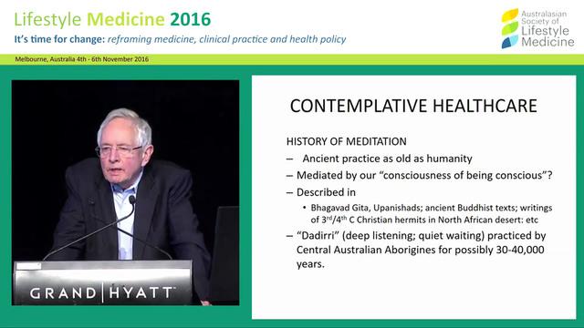 Contemplative healthcare: Should heal...