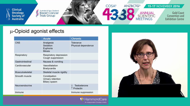 Cancer pain management AProf Melanie Lovell