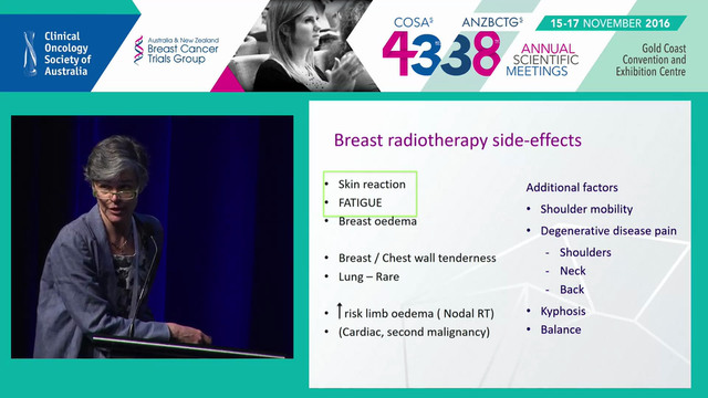 Radiation therapy in older patients with early breast cancer Claire Phillips