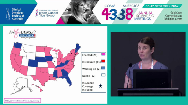 Towards tailored screening Should breast cancer screening programs routinely measure mammographic density Jennifer Stone