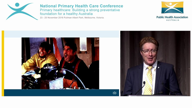 Have no fear primary health is here Frank Quinlan