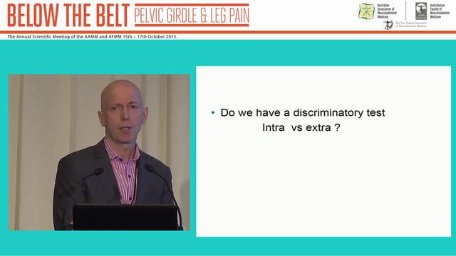 Diagnosis of extra-articular vs intra...