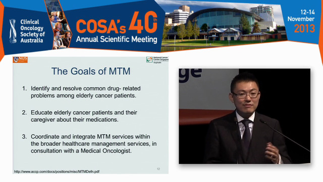 Medicine matters in the older cancer ...