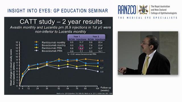 Macular Disease-AMD-diabetic retinopathy-retinal vein occlusions- the anti VEGF revolution - Dr Nitin Verma AM