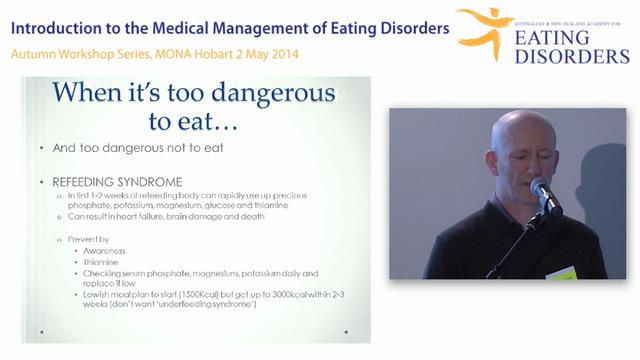 Medical Management of eating disorder...