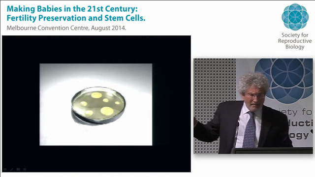 Making sperm and eggs from stem cells Professor Gerald Schatten University of Pittsburgh School of Medicine