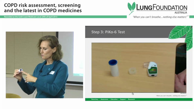 COPD Risk assessment and screening Judy Powell v2