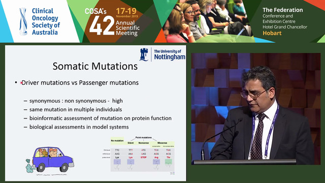 Rare molecular mutations in metastati...