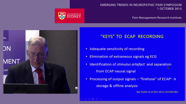 Interventions for Neuropathic Pain Professor Michael J. Cousins