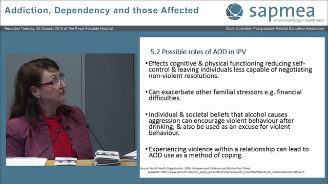 Family Violence Associated with Drug ...