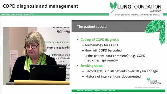COPD Implementing systems in general practice for patients with COPD Ms. Julie Healy Reg. Nurse & Asthma Educator Silky Oaks Medical Practice