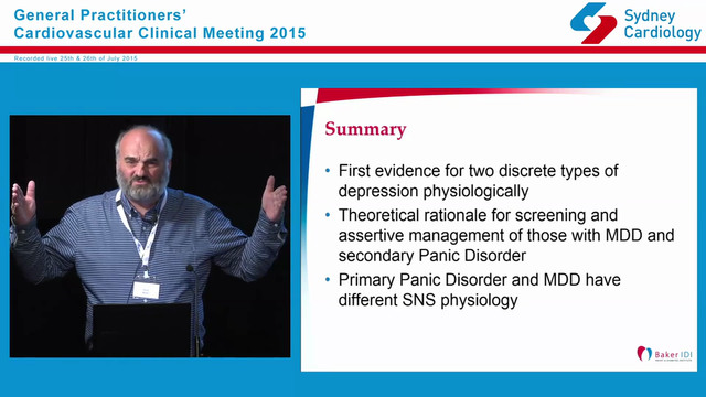 Depression and Cardiovascular Disease...