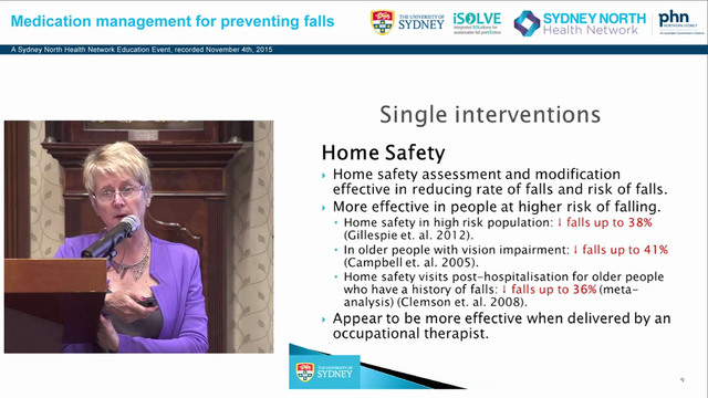 Falls Prevention A Whole Primary Care Approach Professor Lindy Clemson