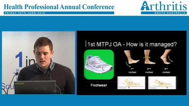 Foot osteoarthritis John Arnold B.Pod...