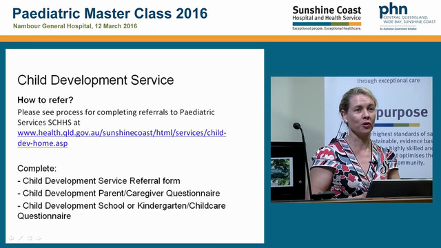 Child development service update Dr H...